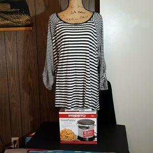 Calvin Klein striped boat shirt 3X